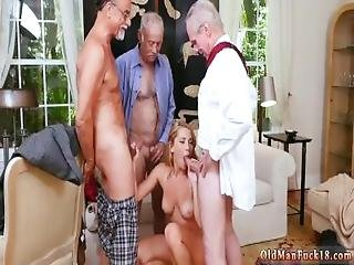Mature Young Threesome Xxx Frannkie And The Gang Tag Team A Door To Door