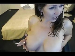 Amateur Big Boobs Milf Smoking