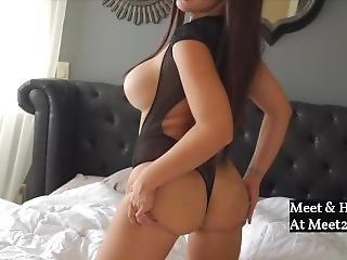 Australian Blonde Nice-tits Dirty Talk & Masturbating