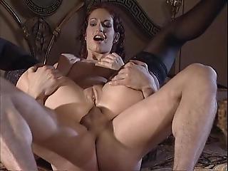 Black Stockings Sophie Evans Hard Anal Fucking