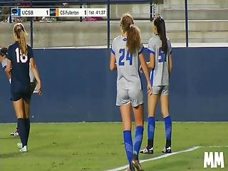 College Soccer Babe