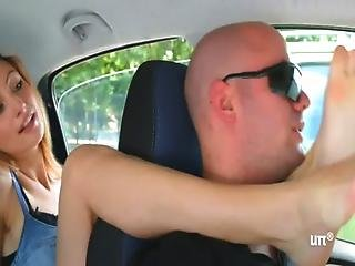 Unp001- Brat Car- Italian Girl Foot Smothering Man- Free