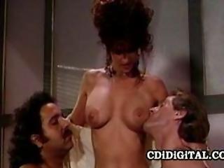 Kristina King  Retro Babe Threesome Office Sex