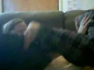 Two Homemade Teens Stripping And Fondling Each Other