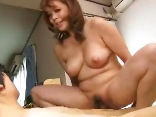 Japanese Mom And Son (1)