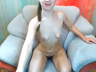 Showing Off Hairy Pussy On Cam