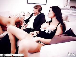 Daringsex Cumswapping Ffm Threesome