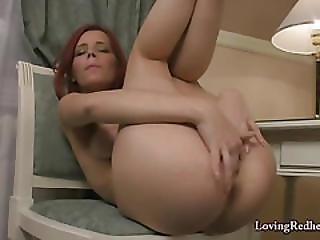 Redhead Meg Edwards Masturbation
