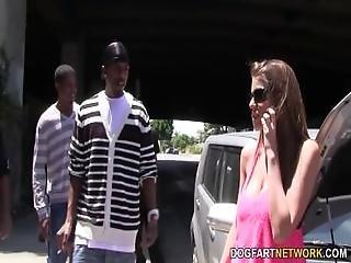 Brooklyn Chase%27s First Interracial Gangbang