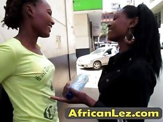 African Lesbians With Big Boobs Decided To Please One Another Shaved Cunts They Enjoy Using Their Tongues By Licking Like Never Befo