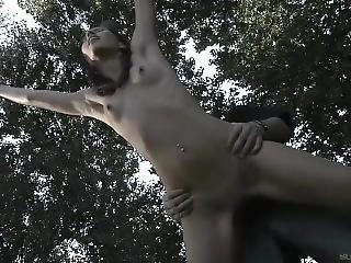 anal, stort bryst, bondage, brunette, tissemand, pornostjerne, rig, russik, lejetøj