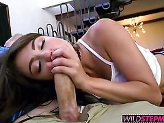 Pretty Babe Adria Rae Has To Share Her Bf With Milf Romi Rain