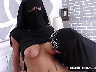 Guy Fucks Nice Hijab And Niqab Girls