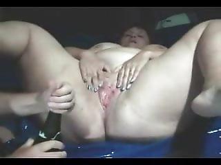 Sparkling Wine For Her Cunt