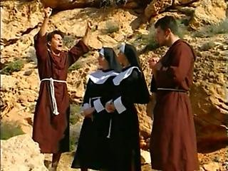 Nuns Fucking All Around....cute Sexy Nuns Needs More Dicks To Fuck Them