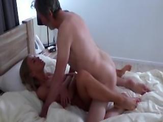 Hot Teen Lolly Gartner Makes Grandpa Cum On Her Belly