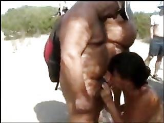 playa, blowjob, nudista, publico, putas