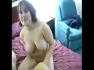 Amateur Mom Fucked And Drilled In Hot Threesome Action