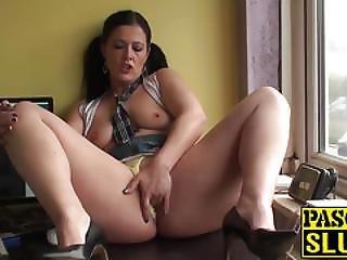 Hot Big Ass Mature Brunette Montse Finger Fucking Her Cunt