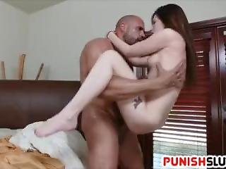 Teen Slut Nina Nirvana Does What She Is Told And Takes Her Panties Off