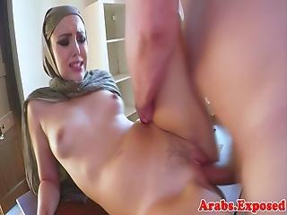 Alluring Arab Beauty Banged In Pov