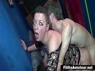 Big Clit Of The Italian Milf 2 Whores In Nasty Orgy