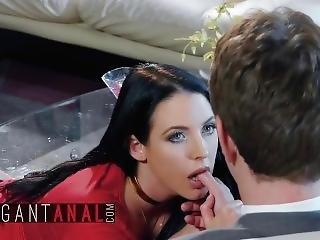Babes - Curvy Teen Angela White Begs For Hard Ass Fucking