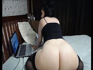 Hot Webcams #09 Russian Milf (mom) Masturbates With A Dildo