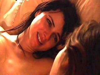 Mia Kirshner And Kate French The L Word