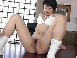 Adorable Beauty, Sakura Aida, Bends Over For A Good Fuck