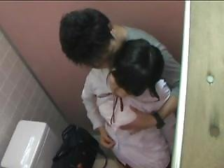 Japanese School-girl Jerking Off A Japanese School-boy