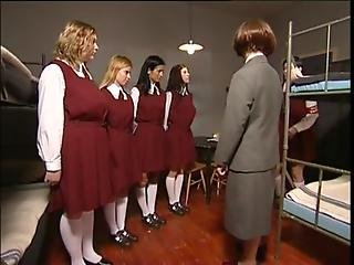 Czech Girls At The Boarding School
