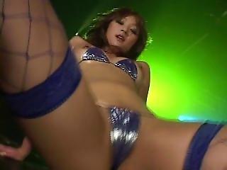 Micro Bikini Oily Dance 2 Scene 1 - Aya Fukunaga