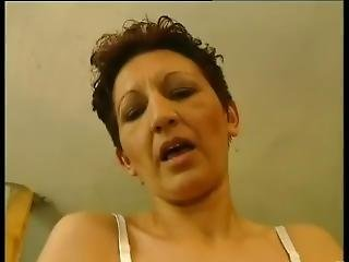 Amateur Mature With Hairy Cunt Fucks Big Cock