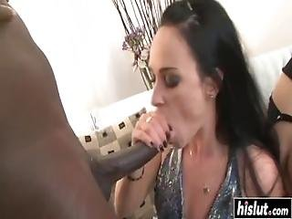 Hot Babes Get Hard Black Dicks