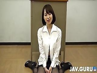 Japanese Girl In Bikini Having Blowjob Session