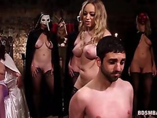 Bdsm, Stort Bryst, Blowjob, Dildo, Femdom, Slave, Slut, Strapon