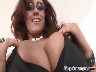 Huge Juggs Ho Cum Covered