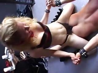 Mistress Brutally Fucks Her Slave With Strapon