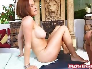 Massaged Milf Facialized As Happy End