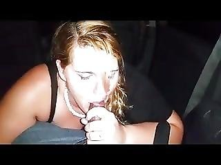 Slut Girlfriend Suck And Fucks Stranger From Club In A Car