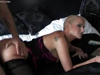brud, stortuttad, blondin, brittisk, hårdporr, sex, dödshet