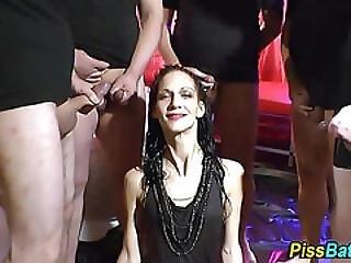 Mature Slut Downs Piss
