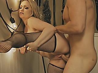 Blondie Woman Aiden Starr Slammed Deep