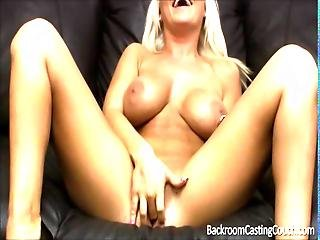 Money Hungry New Mommy Fucks For A Job It Was Almost A No Go Because Of A New Bf But She Chose Cash