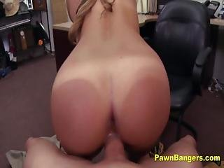 Teen Slut Fucks Shop Owner For Easy Cash