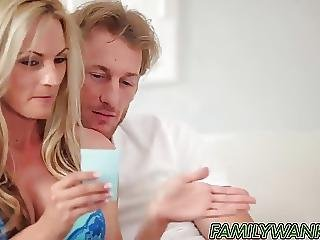 Alina West Gets Down With Stepbro While Parents Go At It Too
