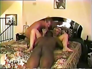 Married Couple S Threesome With Black Guy