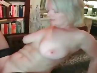 Mature Wife With Big Tits Does Young Boy