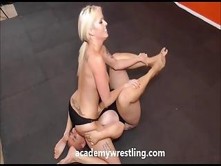 Sexy Athlete Wrestler Get Fucked At Academy Wrestling